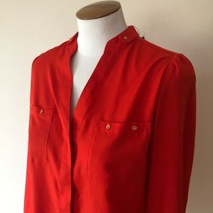 Red blouse S The Limited